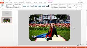 video crop a picture to fit a shape office support