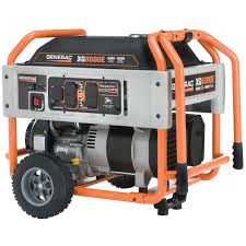 generac 6433 xt8000e 8 000 watt portable gas powered electric