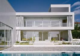 architecture luxury modern house with minimalist pool and awesome