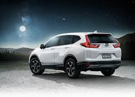 honda crv white honda thailand unveils the all new honda cr v powered by a 1 6l i