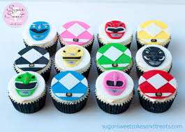 power rangers cake toppers mighty morphin power ranger cake and cupcakes cakecentral