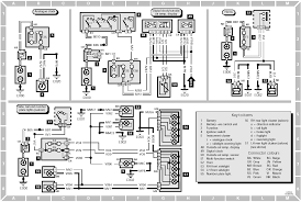 peugeot 405 u003e u003e diagram 6 external temp display clock and