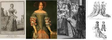 les robes de mariã e robe de cour xviième siècle de fil en dentelle