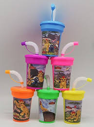 favor cups 6 lion guard stickers birthday sipper cups with lids