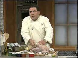 emeril s boudin stuffed turkey for thanksgiving martha