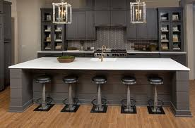 kitchen island overhang for bar stools modern kitchen island