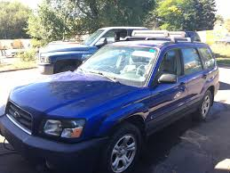 forester subaru 2003 2003 subaru forester x automatic 151k complete part out the