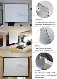 motorized home theater screen on sale 72