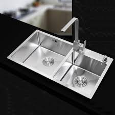 compare prices on stainless steel double sink and drainer online