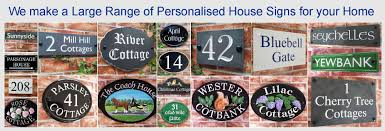 uk house signs name plates u0026 number plaques by housesignshop