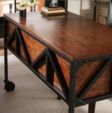 Industrial Style Reception Desk Best 25 Industrial Desk Ideas On Pinterest Pipe For Stylish Home