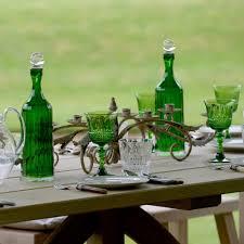 florence wine glass emerald acrylic rosara