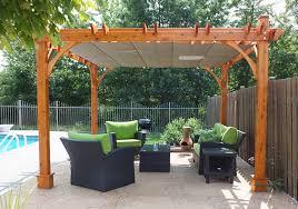 12 X 12 Pergola by Pergola Kits Breeze Retractable Canopy 12x12 Pool Olt