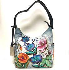 anuschka premium antique anuschka leather hobo handbags purses flower ebay