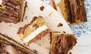 healthy mars bar cake raw vegan and paleo