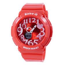 Jam Tangan Baby G Warna Merah harga sarap jam tangan baby g bga 130 sherina merah