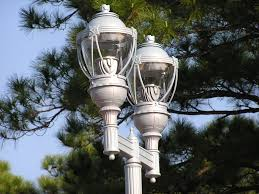 Outdoor Solar Lamp Post by Decorative Solar Lamp Post Lights On Salerno Road
