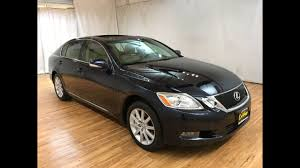 mcgrath lexus westmont used cars 2008 lexus gs 350 awd navigation moonroof rear cam carvision