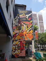 murals spread colourful cheer to businesses and hdb estates guinness singapore s ang ji gao mural in horne road designed by artist ben qwek photo guinness singapore