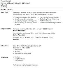 sample resume for retail sales associate u2013 topshoppingnetwork com