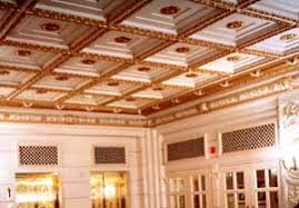 What Is A Coffered Ceiling by Preservation Brief 23 Preserving Historic Ornamental Plaster