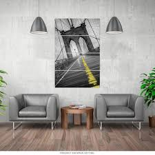 floor and decor address brooklyn bridge nyc walkway quadriptych metal wall art large