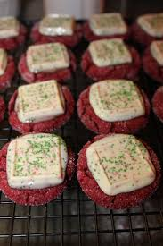 ghirardelli peppermint bark mini on red velvet your party tuned up