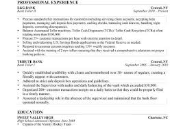 free bank teller resume examples writing resume sample writing