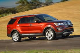 How Much Is The 2016 Ford Bronco 2016 Ford Explorer Reviews And Rating Motor Trend