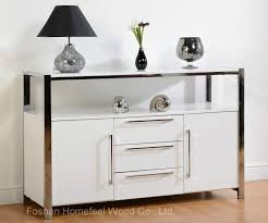 china contemporary high gloss white sideboard dining room storage