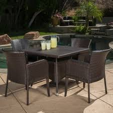 High Top Patio Dining Set Size 5 Sets Outdoor Dining Sets For Less Overstock