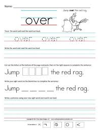 1st grade writing worksheet worksheets