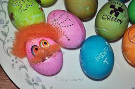 Easter Egg Decorating Funny easter egg decorating fun part one stacy uncorked