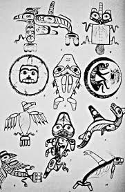 photo haida tattoo designs reproduced in john r swanton u0027s book