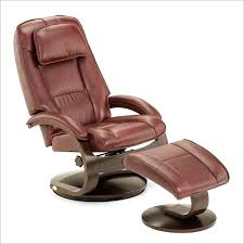 Recliner Chair With Ottoman Surprising Leather Swivel Recliner Chair And Ottoman Ideas
