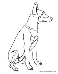 cute dog coloring pages hellokids