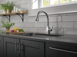 Delta Kitchen Faucets Warranty by Faucet Com 9183 Ar Dst In Arctic Stainless By Delta