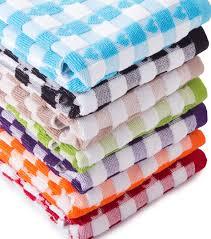 luxury egyptian terry heart design tea towels