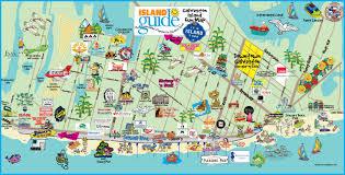 map of galveston maps more island guide magazine