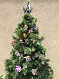 anime z wrriors perler sprites tree toppers and ornament sets