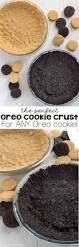 the perfect oreo cookie crust recipe crazy for crust
