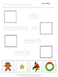 christmas u0027cut and paste u0027 free esl worksheet 3