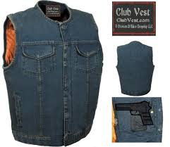 biker vest biker denim vest