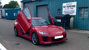 mazda rx8 modified m u0027z custom no parking renesis lambo doors