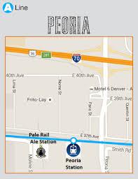 Denver Rtd Map Breweries In Walking Distance Of Denver U0027s Rtd A Line