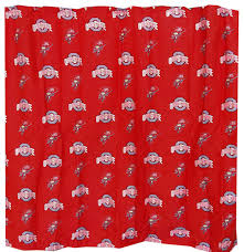 Ohio State Curtains Ohio State Shower Curtain Curtains Ideas