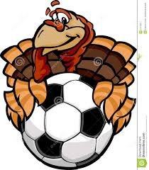 thanksgiving cartoon pictures soccer thanksgiving holiday happy turkey cartoon stock image