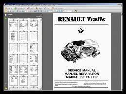 renault trafic manual de taller workshop manual manuel
