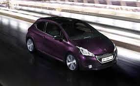 peugeot 1 peugeot 208 xy chic city car revealed photos 1 of 10