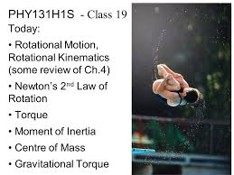 phy131h1s class 19 today rotational motion rotational